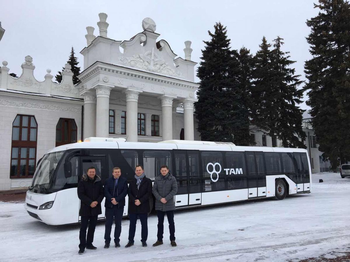 TAM-Europe announces a new customer in Ukraine