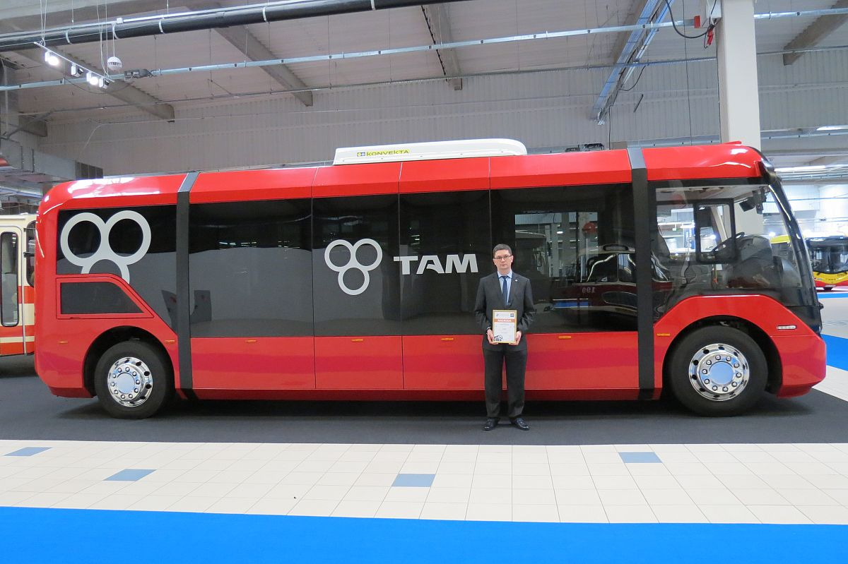 Our VERO was awarded at the WARSHAW BUS EXPO 2018