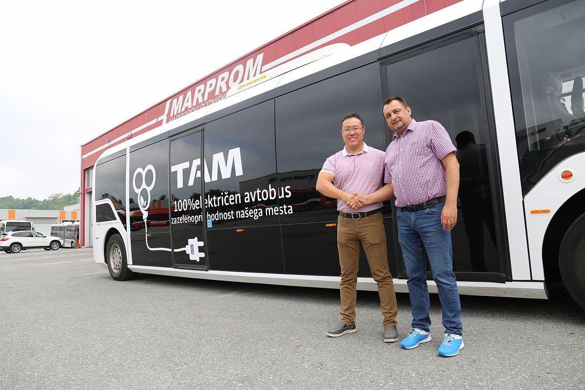 TAM VERO – 100% električni avtobus bo prevažal potnike v Mariboru