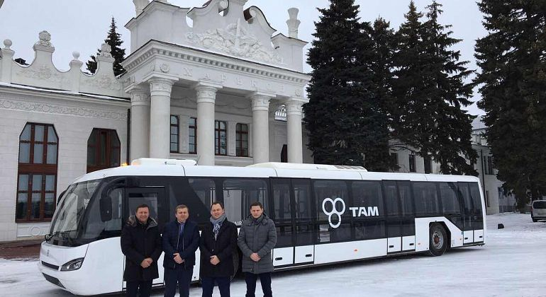 TAM-Europe announces a new customer in Ukraine