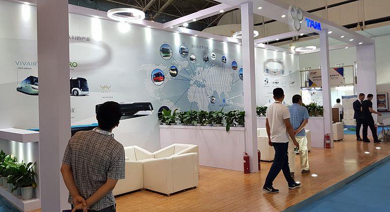 TAM-EUROPE visits inter airport China 2018