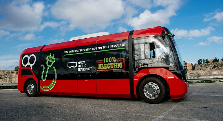 VERO – THE FIRST ELECTRIC BUS ON TEST IN MALTA